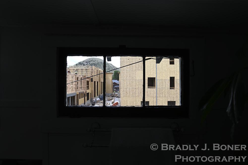 Historic St. John's Hospital nurses' quarters on Glenwood Street