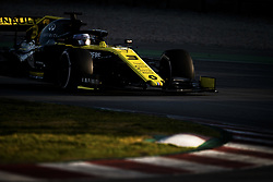 February 18, 2019 - Barcelona, Spain - 03 RICCIARDO Daniel (aus), Renault Sport F1 Team RS19, action during Formula 1 winter tests from February 18 to 21, 2019 at Barcelona, Spain - Photo Motorsports: FIA Formula One World Championship 2019, Test in Barcelona, (Credit Image: © Hoch Zwei via ZUMA Wire)