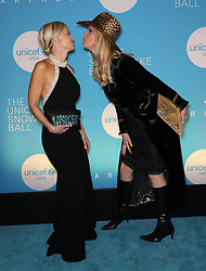 Hilary Quinlan and Sandra Lee at the UNICEF USA's 14th Annual Snowflake Ball in New York City.