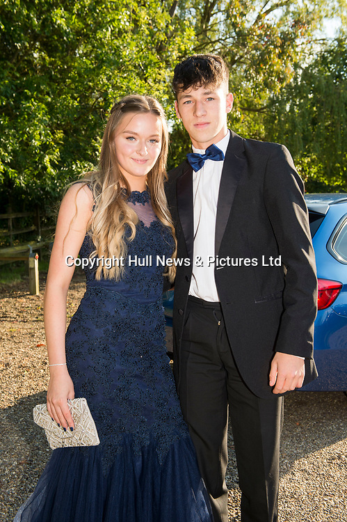 21 JUne 2019: Louth Academy Year 11 Prom at Brackenborough Hotel.<br /> Biba Asquith and Jake Crane.<br /> Picture: Sean Spencer/Hull News & Pictures Ltd<br /> 01482 210267/07976 433960<br /> www.hullnews.co.uk         sean@hullnews.co.uk