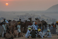 The Pushkar Fair, also called the Pushkar Camel Fair or locally as Kartik Mela or Pushkar ka Mela is an annual multi-day livestock fair held in the town of Pushkar (Rajasthan, India) It is one of India's largest camel fairs. Traders from the many ethnic tribes of Rajasthan visit the fair for business and as a social gathering. Pilgrims visit the sacred Pushkar Lake for a bath.
