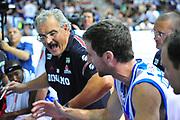 DESCRIZIONE : Sassari Lega A 2013-14 Dinamo Sassari - Enel Brindisi<br /> GIOCATORE : Meo Sacchetti<br /> CATEGORIA : Time Out<br /> SQUADRA : Dinamo Sassari<br /> EVENTO : Campionato Lega A 2013-2014 <br /> GARA : Dinamo Sassari - Enel Brindisi<br /> DATA : 11/05/2014<br /> SPORT : Pallacanestro <br /> AUTORE : Agenzia Ciamillo-Castoria/M.Turrini<br /> Galleria : Lega Basket A 2013-2014  <br /> Fotonotizia : Sassari Lega A 2013-14 Dinamo Sassari - Enel Brindisi<br /> Predefinita :