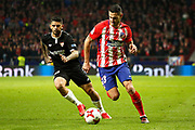 Atletico Madrid's Spanish forward Victor Vitolo controls the ball during the Spanish Cup, Copa del Rey quarter final, 1st leg football match between Atletico Madrid and Sevilla FC on January 17, 2018 at Wanda Metropolitano stadium in Madrid, Spain - Photo Benjamin Cremel / ProSportsImages / DPPI