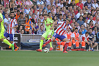 Atletico de Madrid´s Fernando Torres during 2014-15 La Liga match between Atletico de Madrid and FC Barcelona at Vicente Calderon stadium in Madrid, Spain. May 17, 2015. (ALTERPHOTOS/Luis Fernandez)