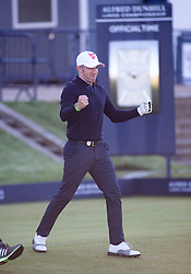 Alessandro Del Piero. Alfred Dunhill Links Championship this morning at St Andrews.