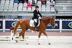 Natalya Zhavoronkova, (RUS), Typhoon - Individual Test Grade IV Para Dressage - Alltech FEI World Equestrian Games™ 2014 - Normandy, France.<br /> © Hippo Foto Team - Jon Stroud <br /> 25/06/14