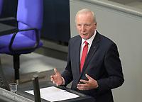 DEU, Deutschland, Germany, Berlin, 07.05.2020: Bernd Westphal (SPD) während einer Rede bei einer Plenarsitzung im Deutschen Bundestag.