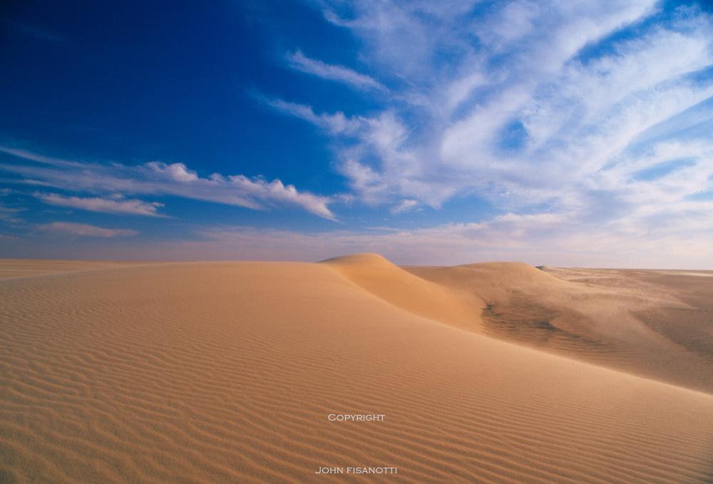 Sand Dunes in the Teneré Desert of Niger