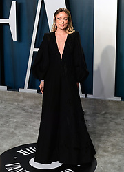 Olivia Wilde attending the Vanity Fair Oscar Party held at the Wallis Annenberg Center for the Performing Arts in Beverly Hills, Los Angeles, California, USA.