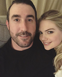"""Kate Upton releases a photo on Instagram with the following caption: """"My forever Valentine \u2764\ufe0f\u2764\ufe0f\u2764\ufe0f\u2764\ufe0f"""". Photo Credit: Instagram *** No USA Distribution *** For Editorial Use Only *** Not to be Published in Books or Photo Books ***  Please note: Fees charged by the agency are for the agency's services only, and do not, nor are they intended to, convey to the user any ownership of Copyright or License in the material. The agency does not claim any ownership including but not limited to Copyright or License in the attached material. By publishing this material you expressly agree to indemnify and to hold the agency and its directors, shareholders and employees harmless from any loss, claims, damages, demands, expenses (including legal fees), or any causes of action or allegation against the agency arising out of or connected in any way with publication of the material."""