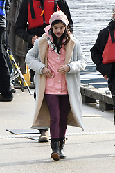 Lucy Hale and co-star Jason Blair filming Life Sentence in Vancouver, Canada Lucy Hale, 28 had a starring role on TV's Pretty Little Liars and is set to play a 15-year-old version of her character, Aiden Abbott, in the upcoming CW show. Lucy wore a pink beanie and jacket as she filmed the scenes in Deep Cove, British Columbia. 11 Oct 2017 Pictured: Lucy Hale, Jayson Blair. Photo credit: Atlantic Images/MEGA TheMegaAgency.com +1 888 505 6342