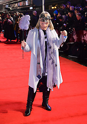 Linda Robson arriving for the Fifty Shader Darker European Premiere held at Odeon Leicester Square, London.