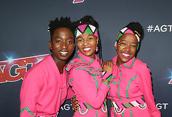 August 20, 2019, Hollywood, CA, USA: 20 August 2019 - Hollywood, California - Ndlovu Youth Choir. ''America's Got Talent'' Season 14 Live Show Red Carpet held at Dolby Theatre. Photo Credit: FSadou/AdMedia (Credit Image: © F Sadou/AdMedia via ZUMA Wire)