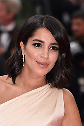 """Leila Bekhti attends the screening of """"A Hidden Life (Une Vie Cachée)"""" during the 72nd annual Cannes Film Festival on May 19, 2019 in Cannes, France. Photo by Lionel Hahn/ABACAPRESS.COM"""