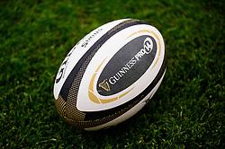 Guinness Pro 14 ball  - Mandatory by-line: Dougie Allward/JMP - 02/11/2019 - RUGBY - Parc y Scarlets - Llanelli, Wales - Scarlets v Toyota Cheetahs - Guinness PRO14