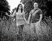Pre Wedding photographs of Leanne & Steve at Wollaton PArk