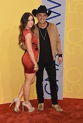 Mindy Ellis and Craig Campbell bei den 50. Country Music Awards in Nashville / 021116<br /> <br /> *** Country Music Awards 2016, Nashville, USA, November 2, 2016 ***