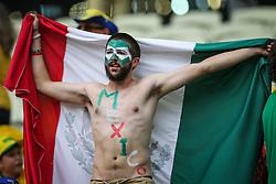 Torcida Mexicana na partida entre Brasil x México, válida pela segunda rodada do grupo A da Copa do Mundo 2014, no estádio Castelão em Fortaleza, Ceará. FOTO: Jefferson Bernardes/ Agência Preview
