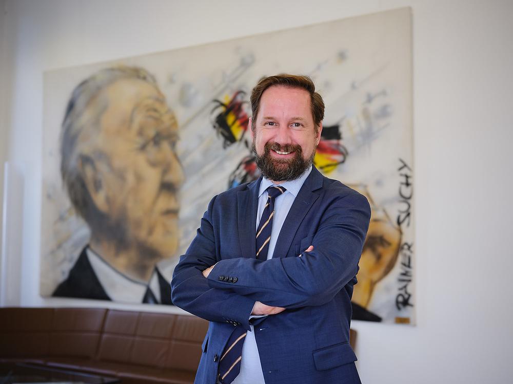 Germany, , 2019/08/19<br /> <br /> Dr. Michael Borchard, Hauptabteilungsleiter Wissenschaftliche Dienste/Archiv für Christlich-Demokratische Politik am 19/08/2019. (Photo by Gregor Zielke)