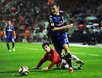 v.l. Omri Kende , Robert Tesche HSV<br /> Europa League Hapoel Tel Aviv - Hamburger SV<br /> <br /> Norway only