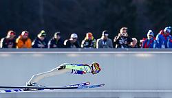 31.12.2013, Olympiaschanze, Garmisch Partenkirchen, GER, FIS Ski Sprung Weltcup, 62. Vierschanzentournee, Qualifikation, im Bild Anssi Koivuranta (FIN) // Anssi Koivuranta (FIN) during qualification Jump of 62nd Four Hills Tournament of FIS Ski Jumping World Cup at the Olympiaschanze, Garmisch Partenkirchen, Germany on 2013/12/31. EXPA Pictures © 2014, PhotoCredit: EXPA/ JFK