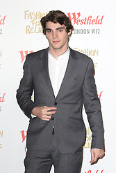 © Licensed to London News Pictures. 27/11/2014, UK.  RJ Mitte, Naomi Campbell Fashion For Relief Pop-Up Shop - launch party, Westfield London UK, 27 November 2014. Photo credit : Richard Goldschmidt/Piqtured/LNP