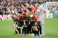 Athletic de Bilbao's team photo during Champions League 2014/2015 Play-off 2nd leg match.August 27,2014. (ALTERPHOTOS/Acero)