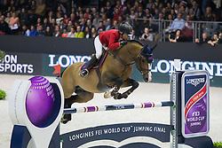 Baryard Johnsson Malin (SWE) - Tornesch 1042<br /> Longines FEI World Cup™ Jumping Final 2013/2014<br /> Lyon 2014<br /> © Dirk Caremans