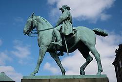 Equestrian Statue of Christian IX Outside of Christiansborg Palace, Copenhagen, Denmark