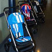 """NLD/Amsterdam/20131003 -  Dad's moment , Mini Cooper buggy""""s"""