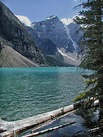 Moraine Lake, Banff National Park, Alberta, Canada   Photo: Peter Llewellyn
