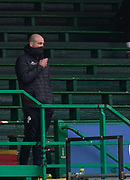 Leicester Tigers Head Coach Steve Borthwick watches from the stands during a Gallagher Premiership Round 10 Rugby Union match, Friday, Feb. 20, 2021, in Leicester, United Kingdom. (Steve Flynn/Image of Sport)