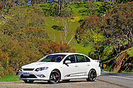 2009 Ford Performance Vehicles FPV GS Sedan - Winter White .Broadford, Victoria.29th September 2009.Limited Edition FPV GS Sedan only 250 to be made .(C) Joel Strickland Photographics.Use information: This image is intended for Editorial use only (e.g. news or commentary, print or electronic). Any commercial or promotional use requires additional clearance.