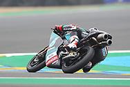 Moto3 race winner #17 John MCPHEEGBR Petronas Sprinta Racing Honda during racing on the Bugatti Circuit at Le Mans, Le Mans, France on 19 May 2019.
