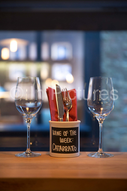 Interior of Antidote Wine Bar on 2nd November 2015 in Covent Garden, London, United Kingdom