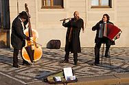 Street Muscians at Prague Castle - Czech Republic