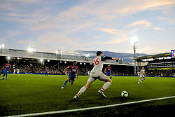 LONDON, ENGLAND - Monday, August 20, 2018: Liverpool's Andy Robertson during the FA Premier League match between Crystal Palace and Liverpool FC at Selhurst Park. (Pic by David Rawcliffe/Propaganda)