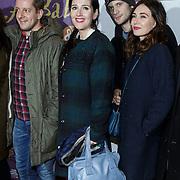 NLD/Amsterdam/20150116 - Premiere 'Ali Baba en de 40 rovers ,  Alex Klaasen, Tina de Bruin, Kees van Nieuwkerk, Carice van Houten,