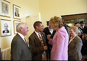 06/10/2004<br /> 10/06/2004<br /> 06 October 2004<br /> Presentation of President's Awards to the Irish Red Cross by President Mary McAleese  at 16 Merrion Square, Dublin.