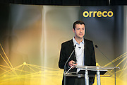 Dr Andrew Barr at the Orreco Science Summit, Glenlo Abbey Hotel, Galway, 25.10.16