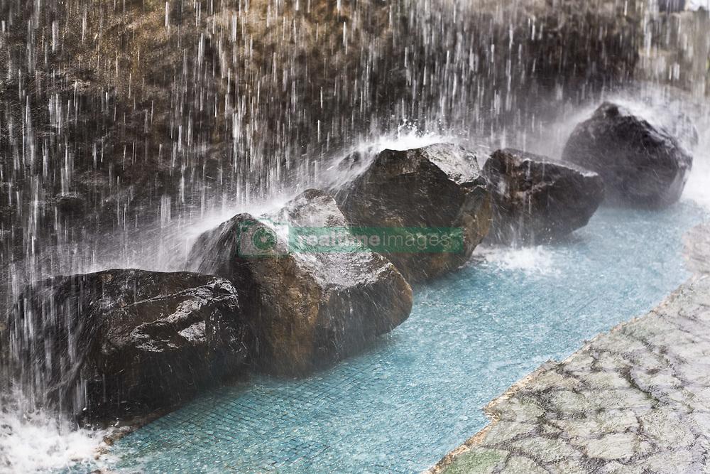 July 21, 2019 - Rocks Under Waterfall (Credit Image: © Caley Tse/Design Pics via ZUMA Wire)