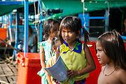 Moat Khla, Floating Fisherman Village, Tonle Sap Lake, Cambodia