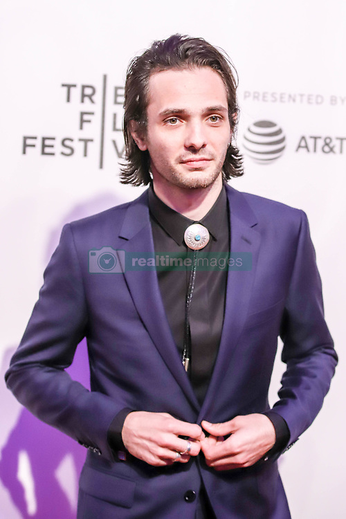 April 28, 2019 - New York, New York, United States - Miles Joris-Peyrafitte attends the screening of ''Dreamland'' during the 2019 Tribeca Film Festival at BMCC Tribeca PAC on April 28, 2019 in New York City. (Credit Image: © William Volcov/ZUMA Wire)