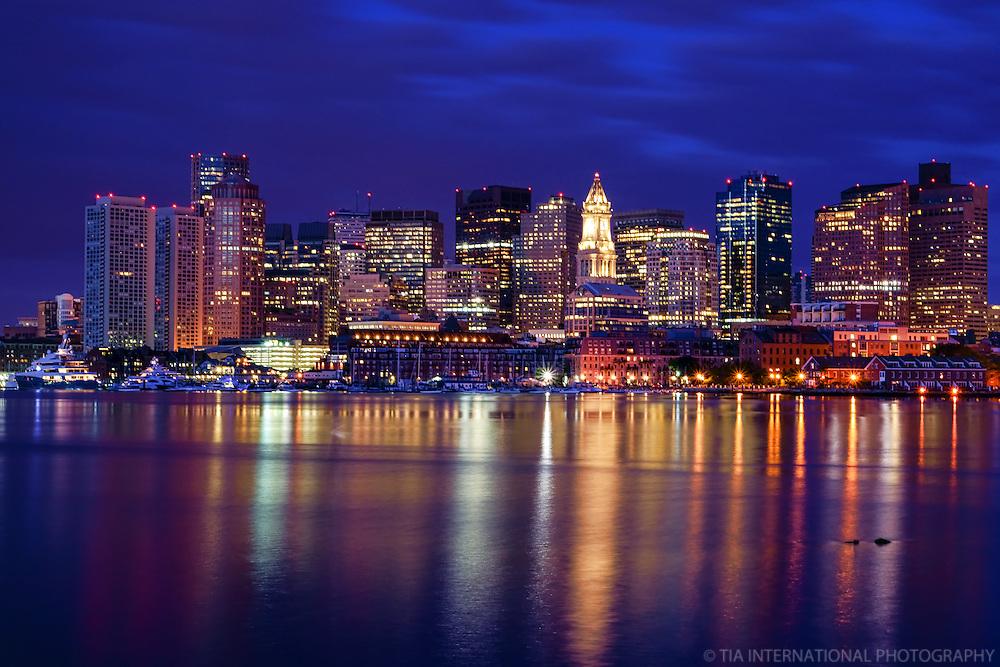 Boston Before Dawn