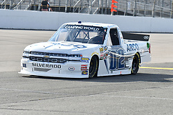 June 22, 2018 - Madison, Illinois, U.S. - MADISON, IL - JUNE 22:  Austin Hill (02) driving a Chevrolet for Ennis Steel Industries, Inc. warms up before  the Camping World Truck Series - Eaton 200 on June 22, 2018, at Gateway Motorsports Park, Madison, IL.   (Photo by Keith Gillett/Icon Sportswire) (Credit Image: © Keith Gillett/Icon SMI via ZUMA Press)