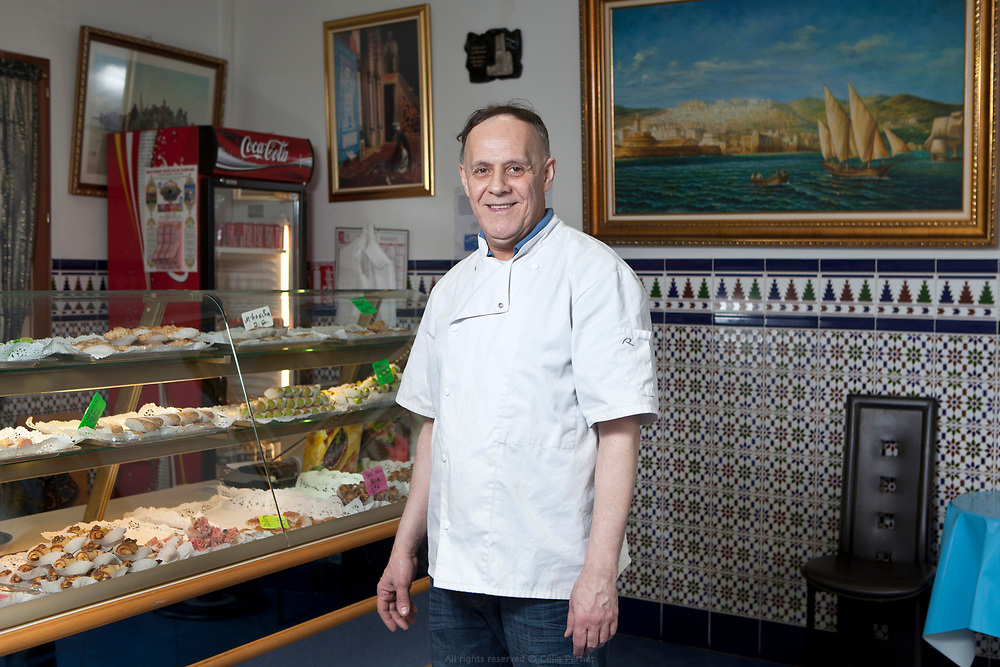 Karim, pâtisserie El Andalousia