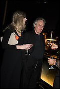 CHARLIE PORTER; HENRY PORTER, Party to celebrate Vanity Fair's very British Hollywood issue. Hosted by Vanity Fair and Working Title. Beaufort Bar, Savoy Hotel. London. 6 Feb 2015