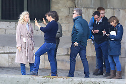 "Rehearsal for a scene from the next episode of ""Mission Impossible 6"" at the Quai des Grands-Augustins in Paris on May 2, 2017.<br />