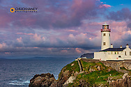 Fanad Head Lighthouse in County Donegal, Ireland
