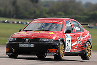 2009 British Touring Car Championship.Thruxton Circuit, Hampshire, United Kingdom.  25th-26th April 2009..(27) - Liam McMillan (GBR) - Maxtream Seat Toledo Cupra.World Copyright: Peter Taylor/PSP.